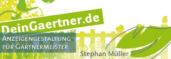 Anzeigengestaltung für Gärtnermeister Allgäu