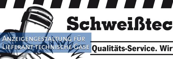 Anzeigengestaltung-Lieferant-techische-Gase