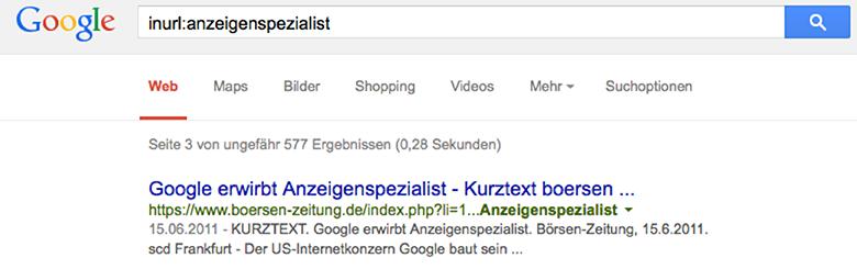 Google erwirbt Anzeigenspezialist