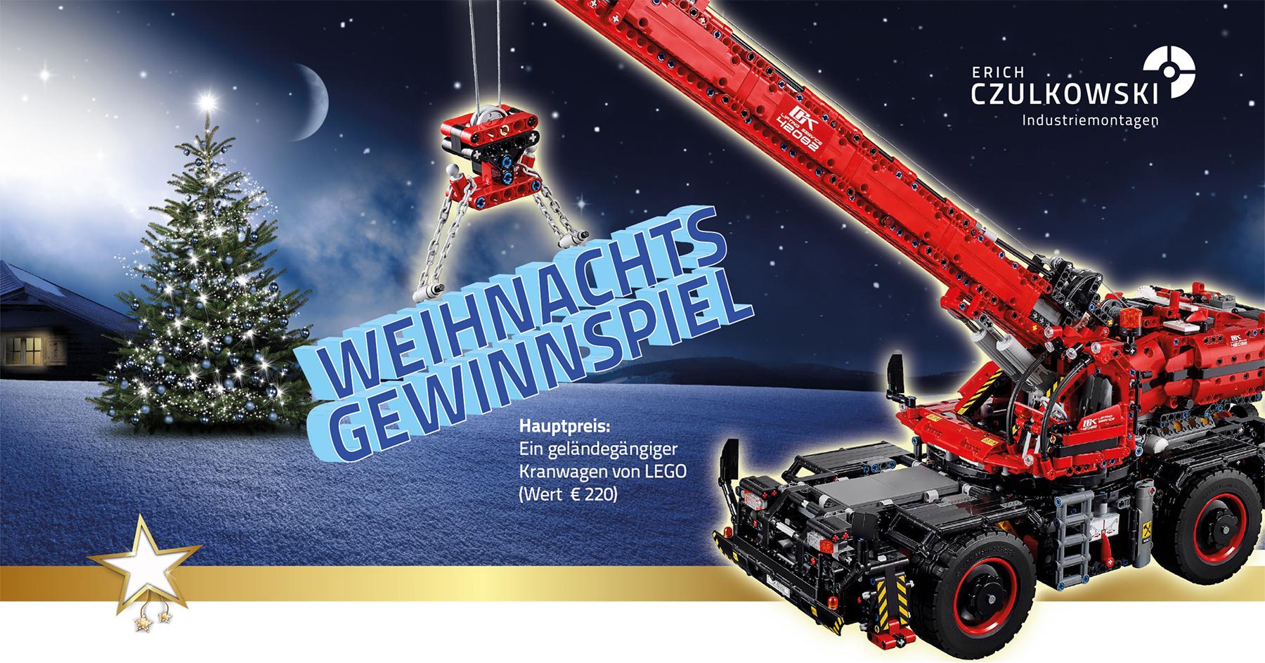 LEGO Technic Set Geländegängiger Kranwagen