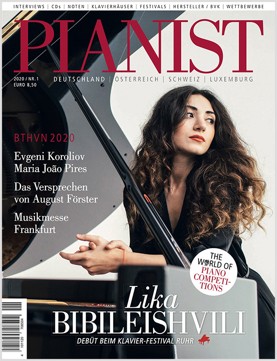 Pianist Deutschland, Österreich, Schweiz, Luxemburg