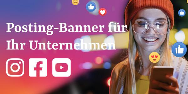 Instagram oder Facebook Banner für Ihr Unternehmen