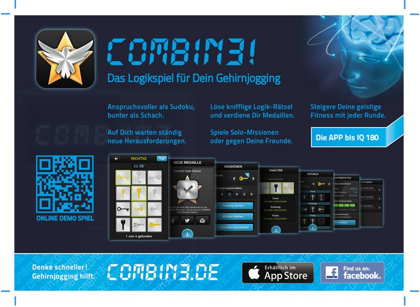 Combin3 App Zeitschriftenanzeige (nachher)